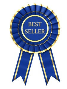 Best seller ribbon award